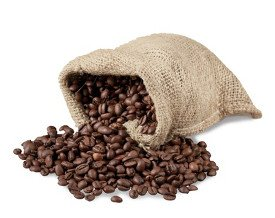 Kaffeebohnen enthalten Chlorogensäure - ein natürliches Antioxidans