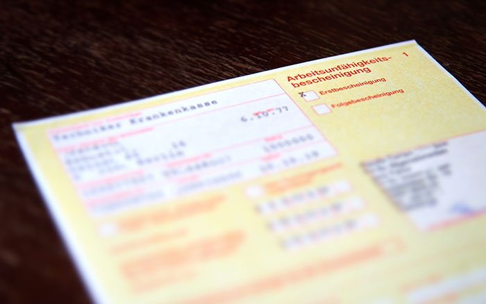 Kostensenkung: Kommt bald die Teilzeit-Krankschreibung?