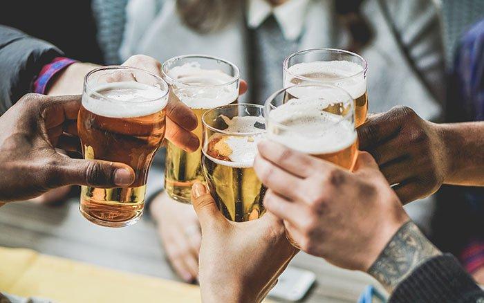 Alkoholkonsum in England: Maximal 6 Bier pro Woche