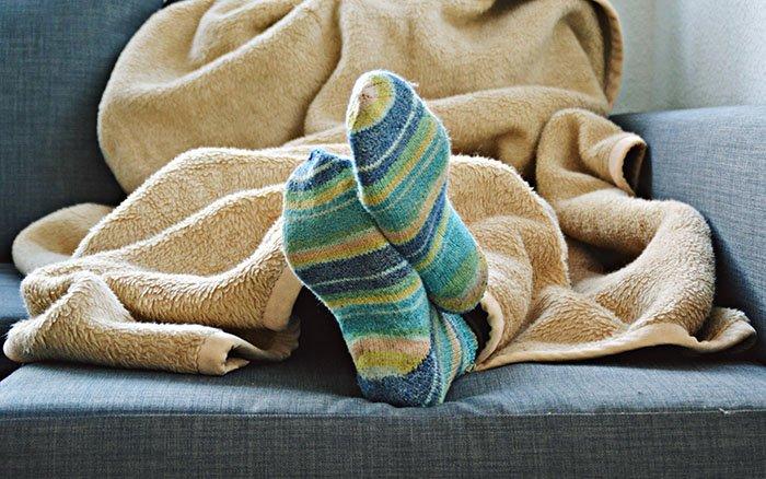 Die besten Tipps & Tricks gegen kalte Füße